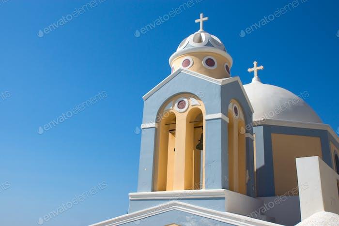 Kirche in Fira, Santorini