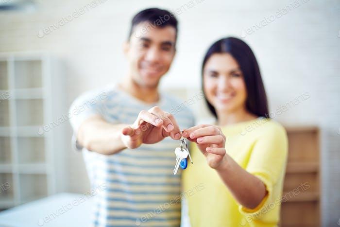 Keys from flat