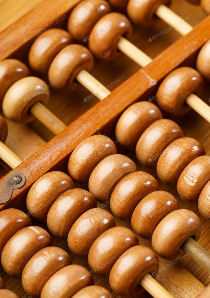 Chinese traditional calculator, abacus