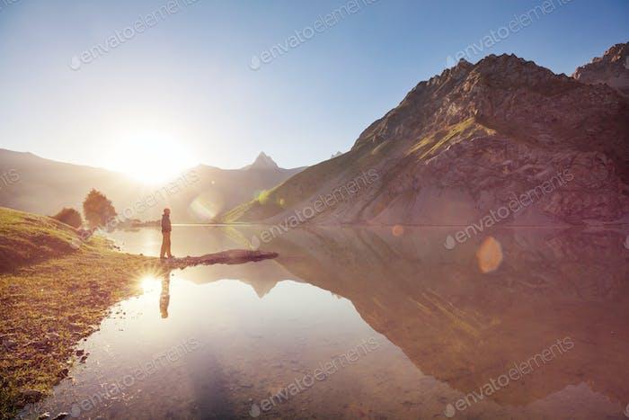 Fann-Gebirgssee