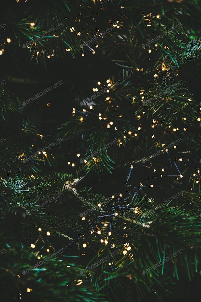 Weihnachten oder Neujahr Grußkarte Hintergrund, Textur, Tapete