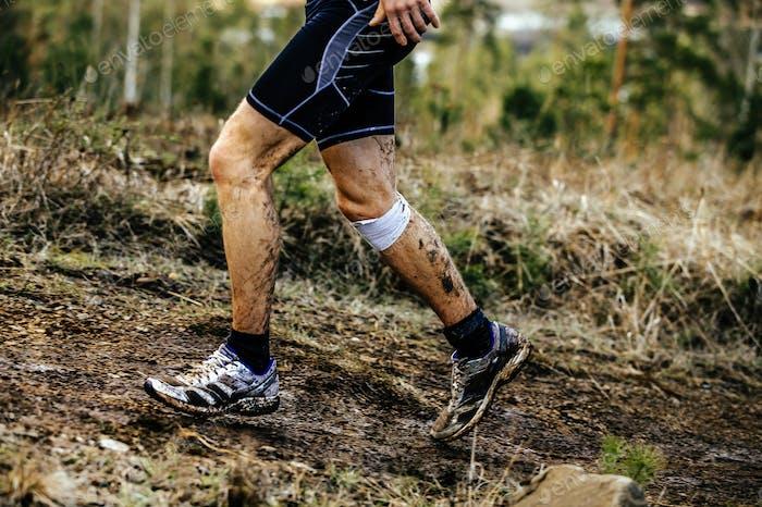 Füße Herren Runner