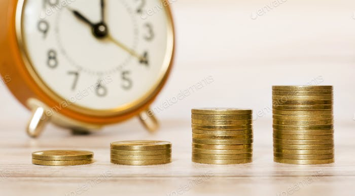 Time is money banner