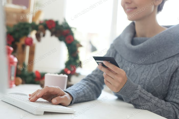 Paying for online purchase