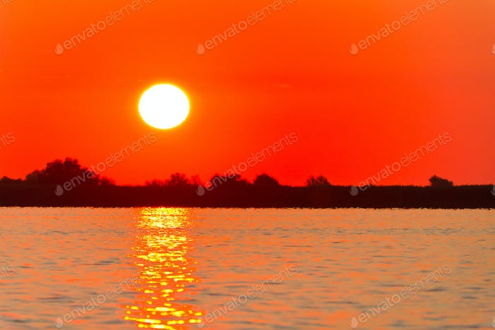 Thumbnail for sunrise in the Danube Delta