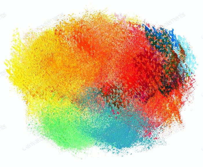 Abstrakt Acryl und Aquarell gemalt Hintergrund.
