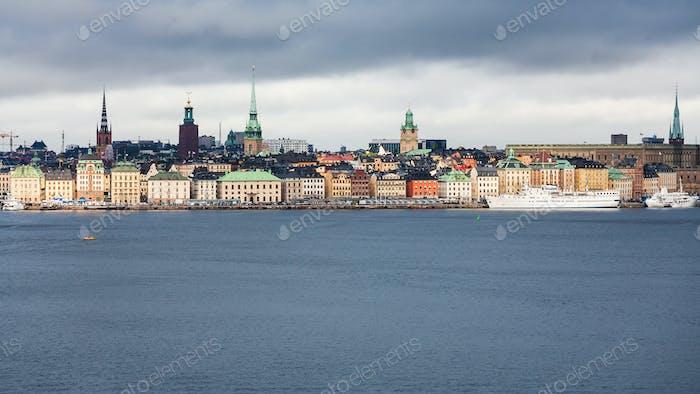 panorama of Stockholm city (Galma Stan)