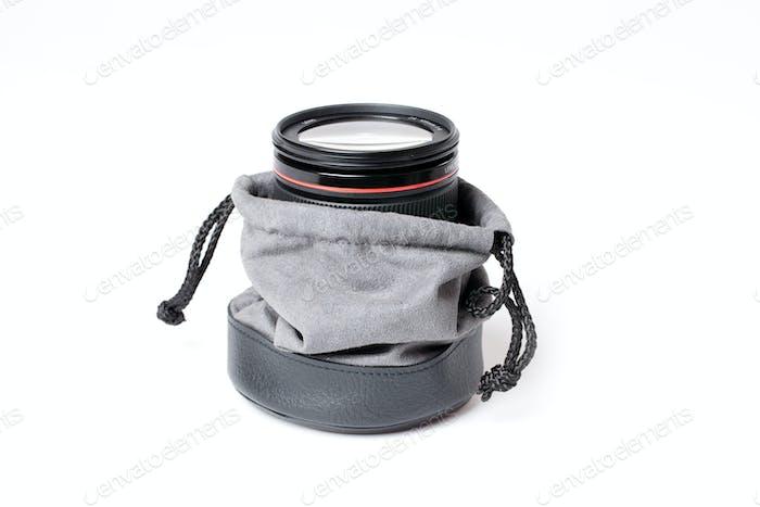 lens in lens case
