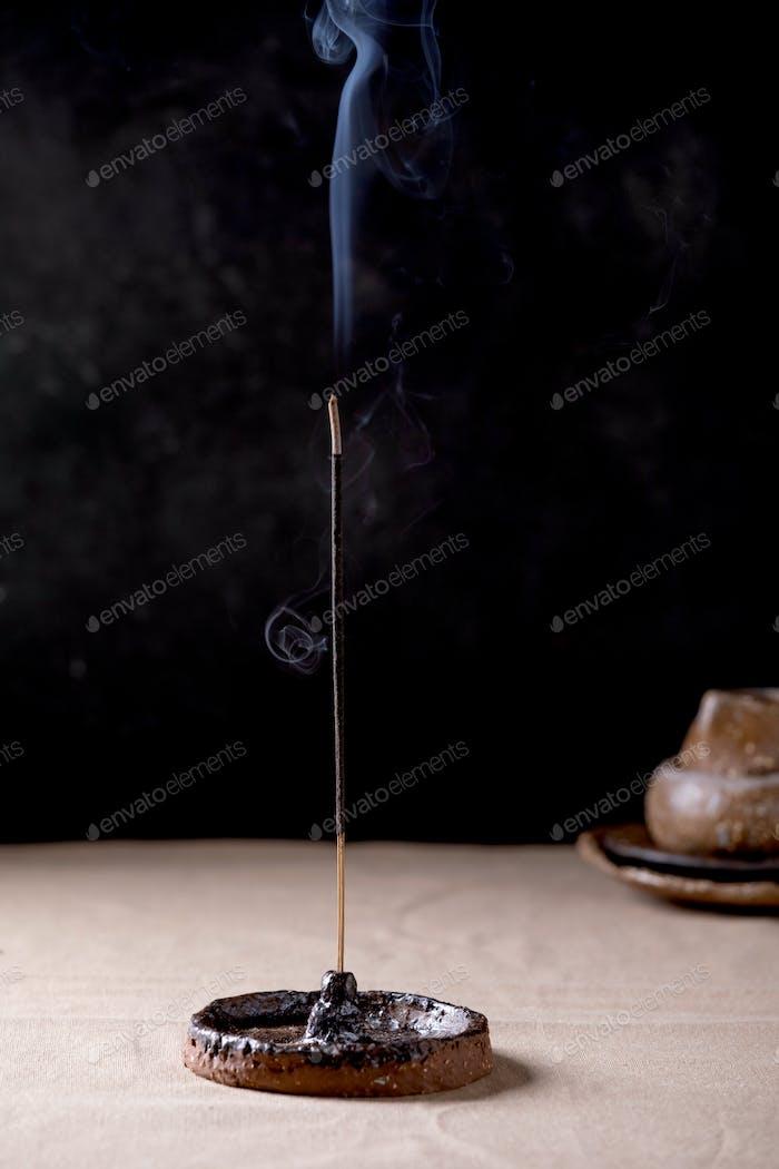 Fuming incense stick