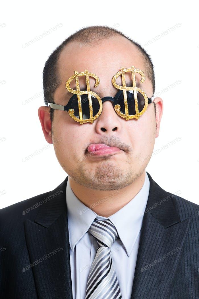 Banquero codicioso