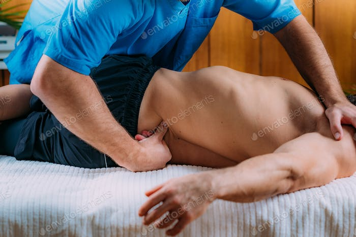 Lower Back Sports Massage Physical Therapy