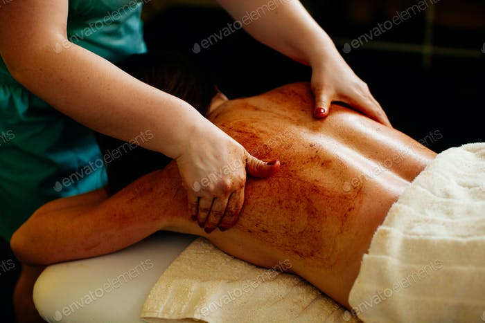 scrub body massage