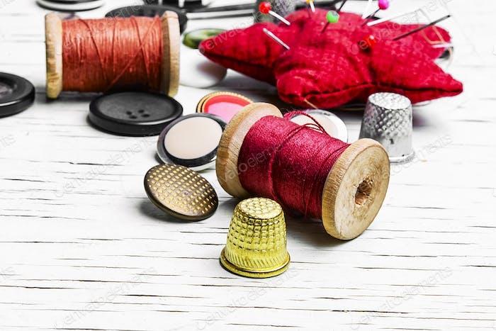 Homemade sewing tools