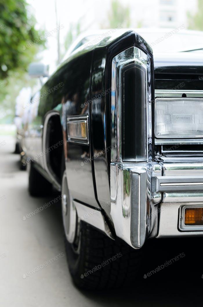 wedding black car