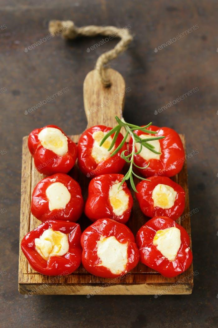 Appetizer Antipasti Sweet Peppers