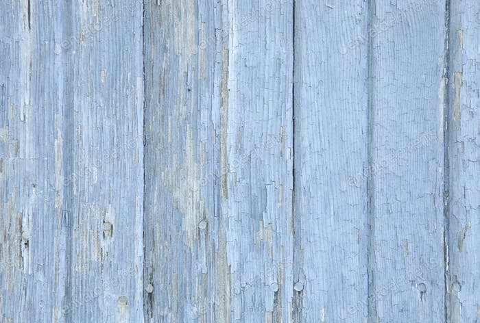 Old Blue Wood Background Texture