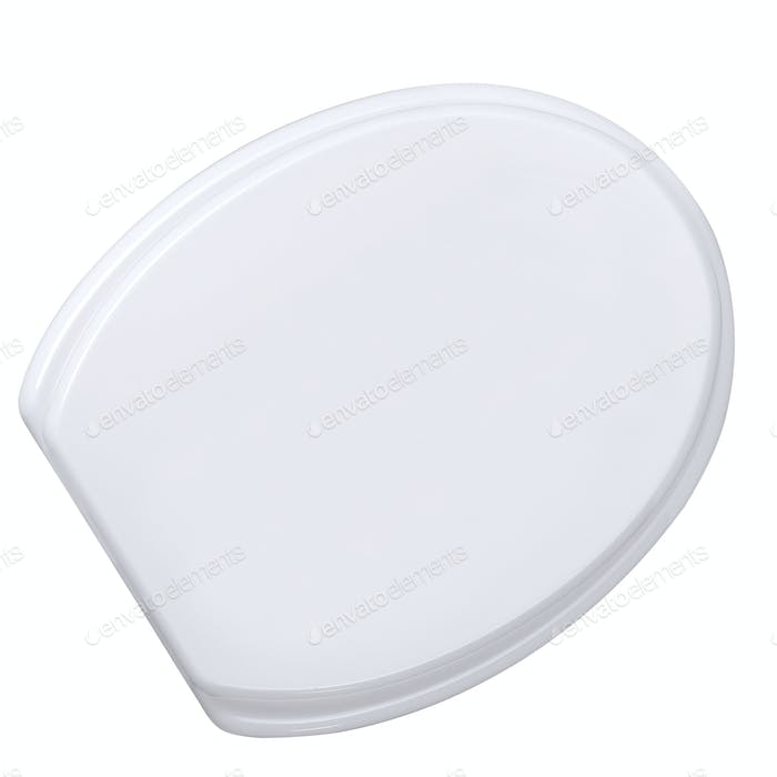toilet seat isolated on white background