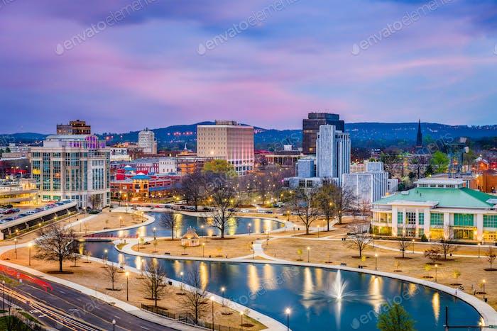 Huntsville, Alabama, USA Skyline