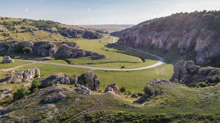 Dobrogea Gorges (Cheile Dobrogei), Romania