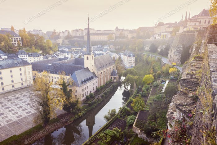 Neumunster Abbey in Luxembourg City