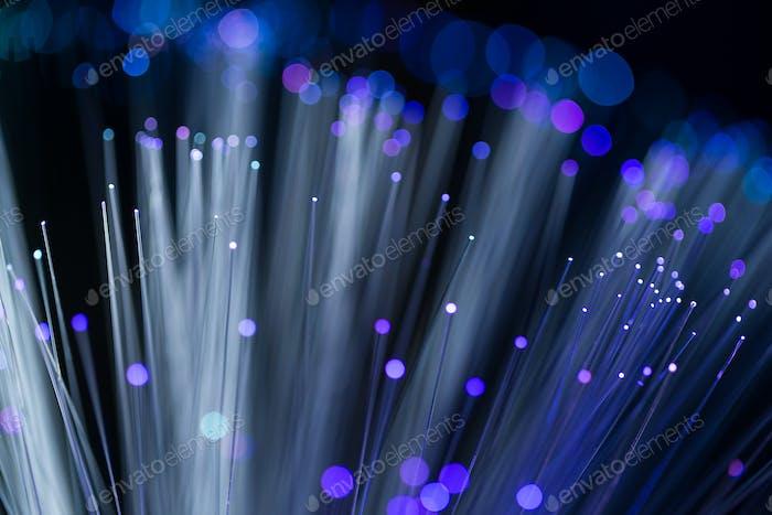 Glasfaser optisch