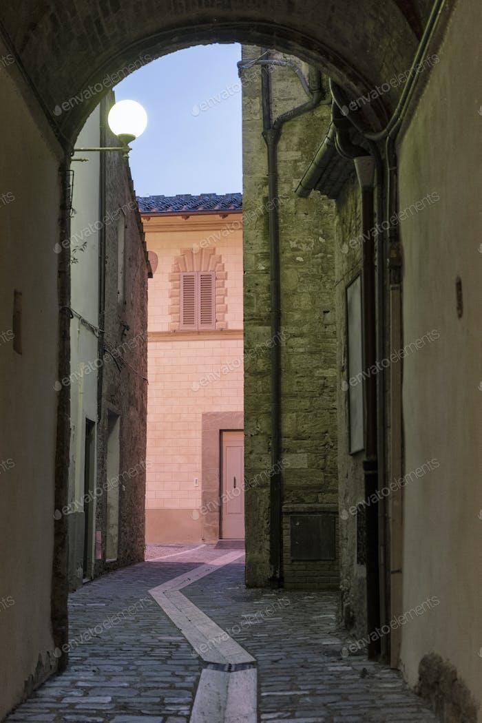 Poggibonsi (Siena) by night