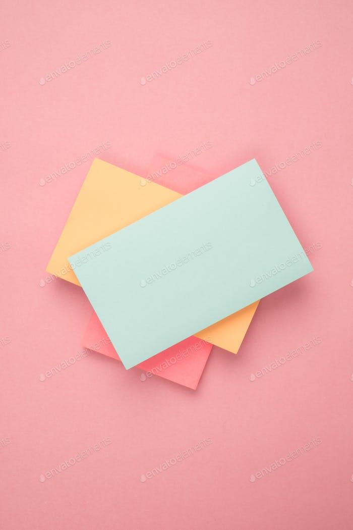 Notizen aus Papier