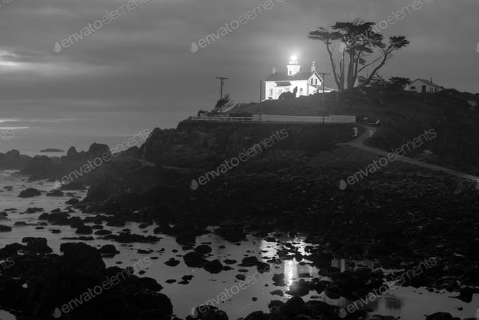 Crescent City California Pacific Coast Battery Point Lighthouse