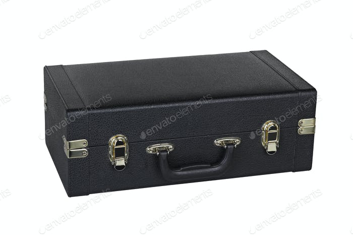 black case for saxophone