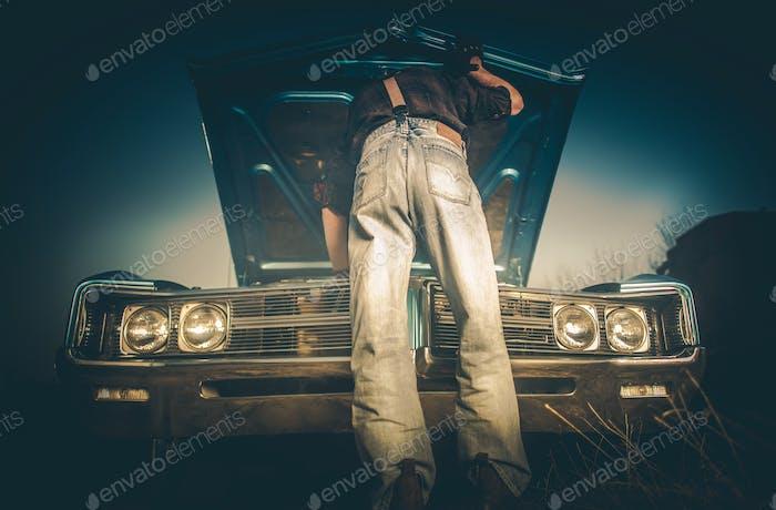 Fixing Broken Classic Car