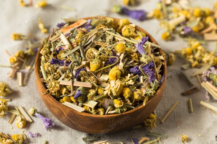 Dry Organic Chamomile Tea