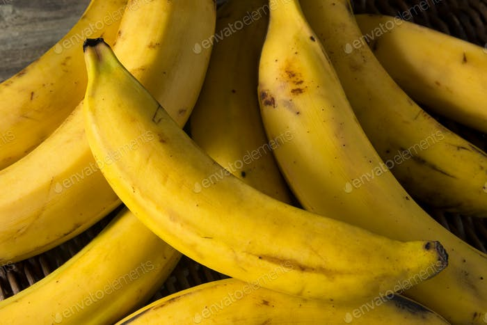 Raw Organic Yellow Plantain Bananas