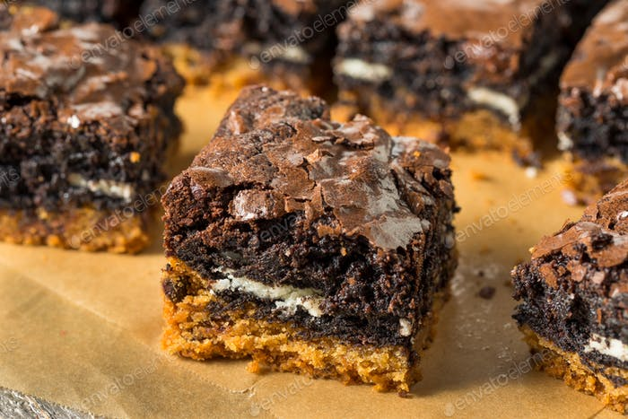 Homemade Chocolate Slutty Brownies