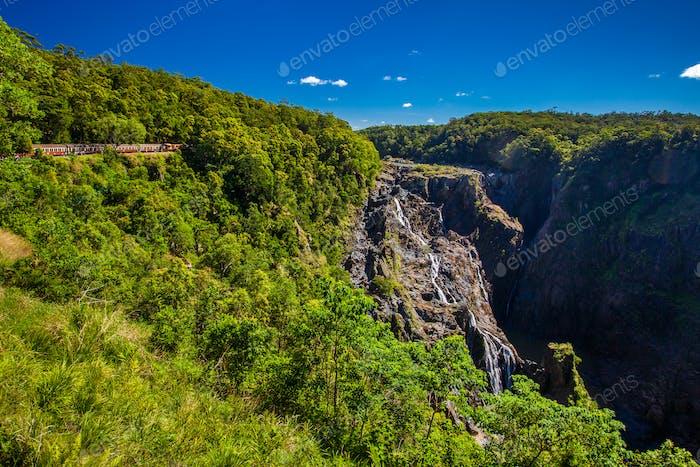 Barron Falls and Kuranda Scenic Railways, Queensland, Australien