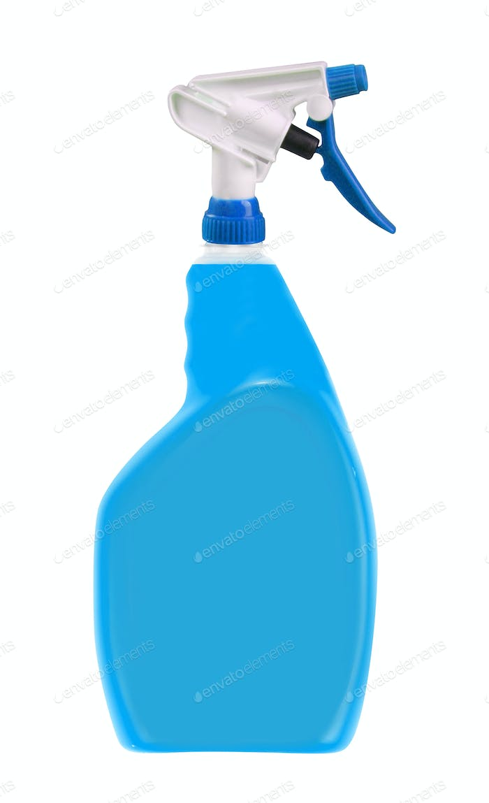 Detergent on a white background