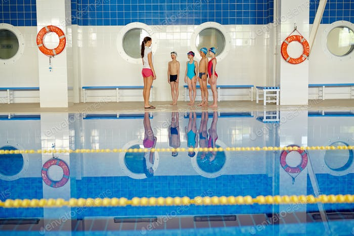 Teaching swimmers