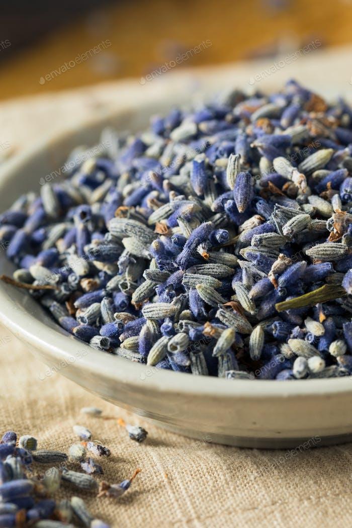 Raw Organic Dry Purple Lavender Spice