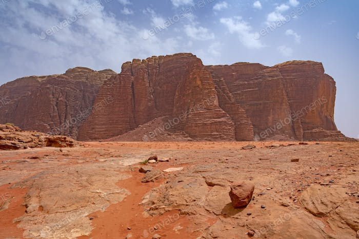 Marslike View in Wadi Rum