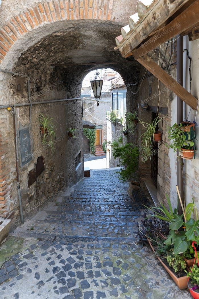 Cori, historic town in the Latina province