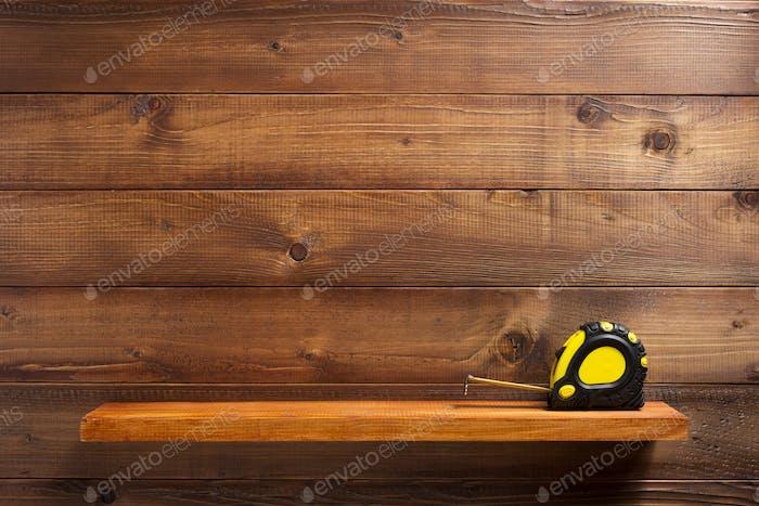 estante Cinta en estante de De madera