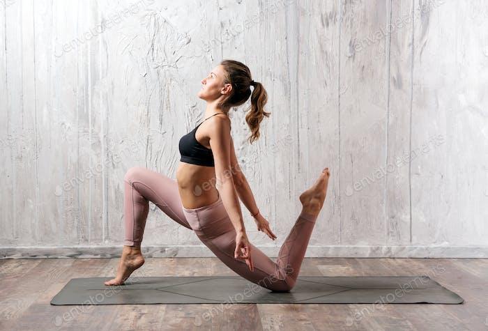 Anjaneyasana yoga pose