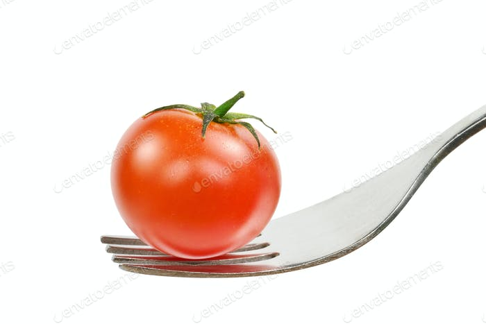 Tomato on a Fork
