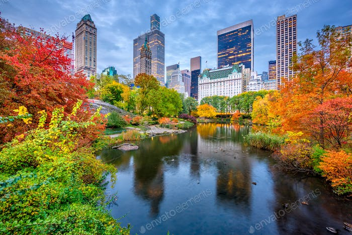 Central Park Herbst