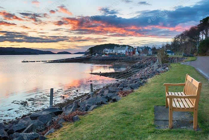 Sheildaig in Scotland