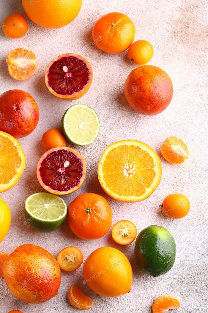 Natural Organic Citrus Fruit