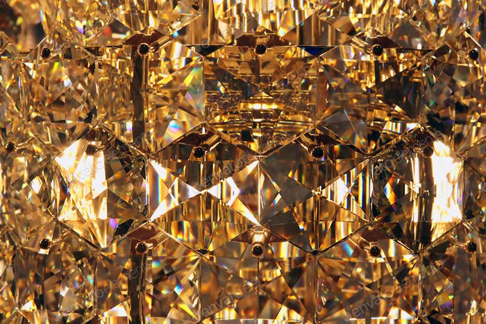 beautiful bright chandelier