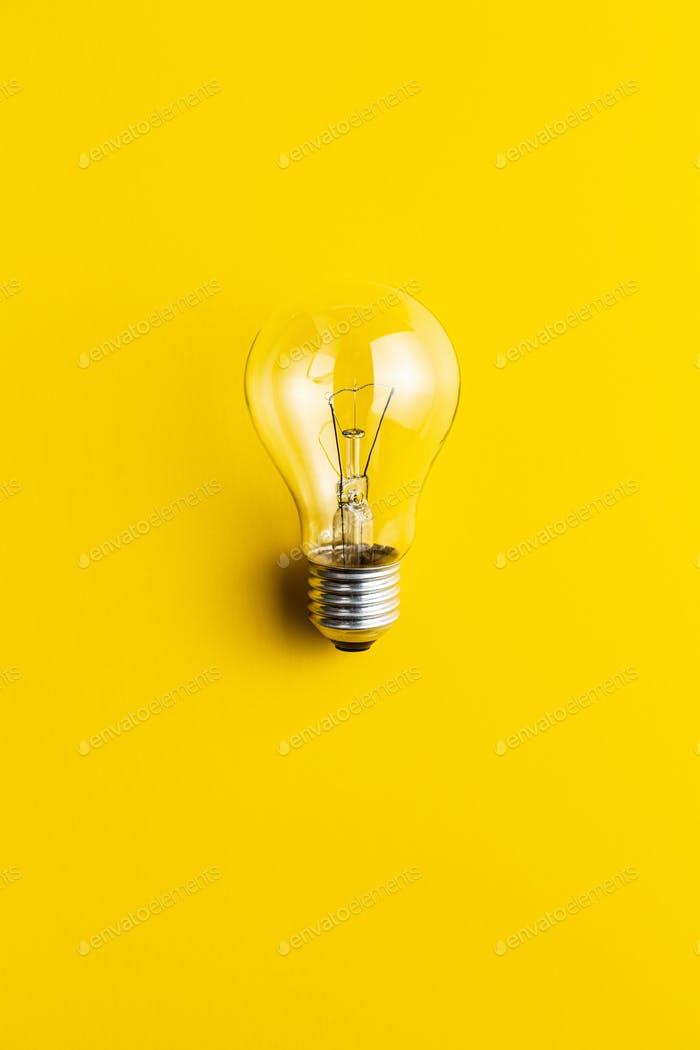 Klassische Glühbirne