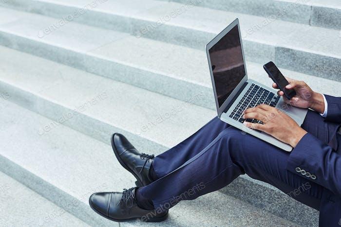 Modern gadgets in business