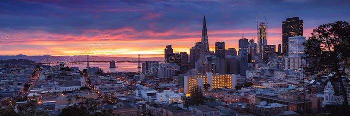 San Francisco at Dawn