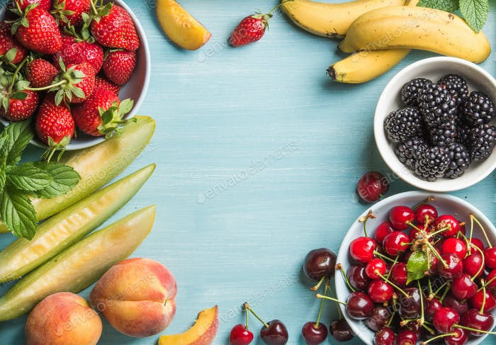 Healthy summer fruit variety